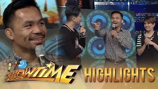 It's Showtime: Manny looks for Vice Ganda