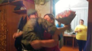 Неожиданная встреча сына из армии ДМБ 2017