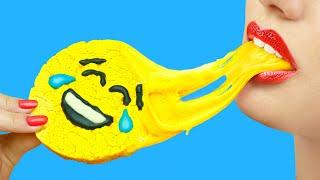 8 Cách Tự Làm Đồ Ăn Giải Tỏa Căng Thẳng/Tự Làm Kẹo Slime
