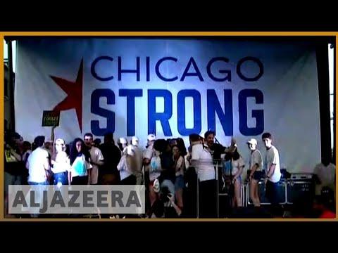 🇺🇸US Gun laws: Student bus tour calling for change   Al JAzeera English