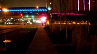 Fogwalking North Toward The Atlantis Casino In Reno NV