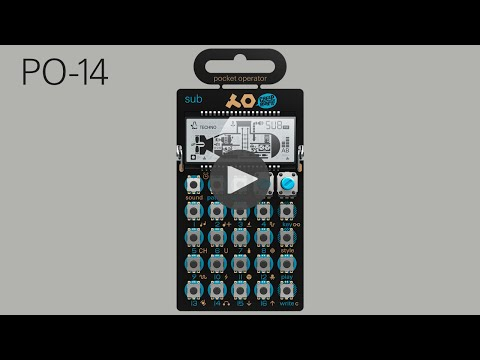 Teenage Engineering Pocket Operator PO-14 Sub