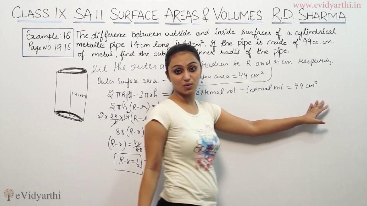 Trending Teacher Maths Class for Surface Areas & Volumes