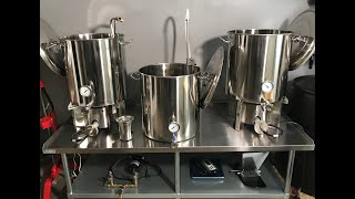 All Grain Home Brewery Setup