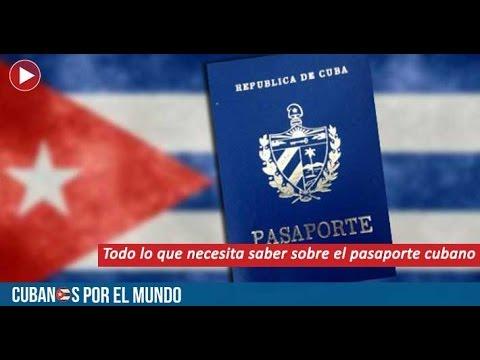 Todo lo que necesita saber sobre el pasaporte cubano