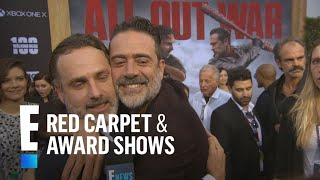 How Andrew Lincoln Broke Jeffrey Dean Morgans Nose On-Set | E! Red Carpet & Award Shows