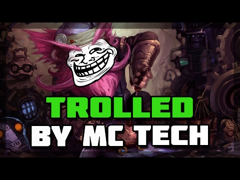 Hearthstone - Trolled by Mind Control Tech