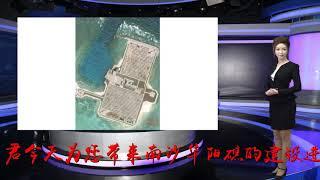 华阳礁最新卫星图曝光,网友:这是在南海建森林公园吗?