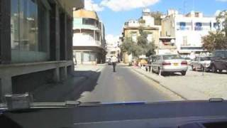 preview picture of video 'Looking for a Place to Park in Old Town Nicosia, 2010'