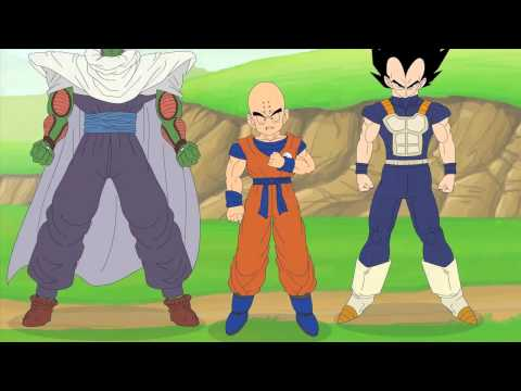 The Jersey Shore Meets Dragonball Z