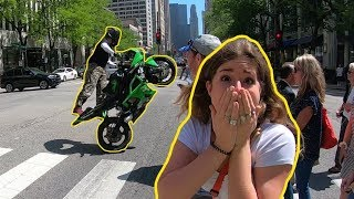 Introducing Stunt Riding to Strangers!