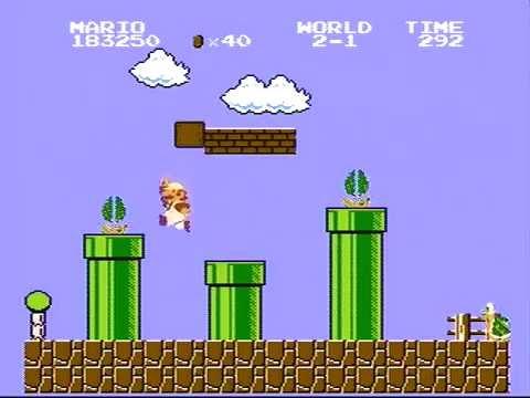 Super Mario Bros. - World Record High Score - 1,441,150 (видео)