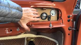 1956 VW Bug Ragtop with a Type IV/Porsche 914 Engine For Sale