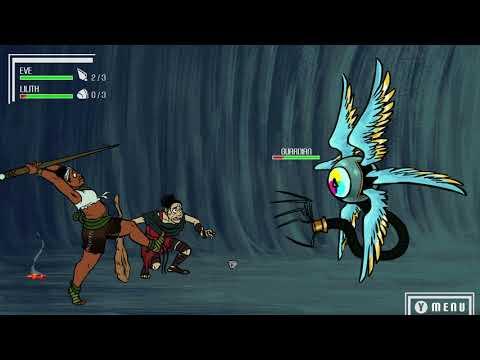 Escape Eden Battle Animatic