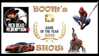 Double-Barrel Gaming Presents: The Game Of The Year 2018 Show