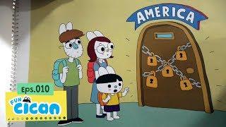 Cican Mencari 5 Kunci untuk ke Amerika