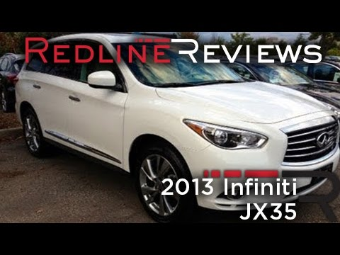 2013 Infiniti JX35 Review, Walkaround, Test Drive