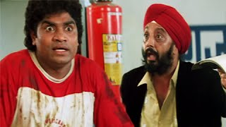Johnny Lever Best Comedy Moment - The Famous Funny Garage Scene