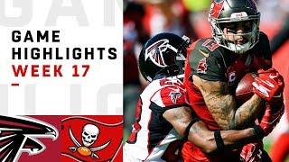 Falcons vs. Buccaneers Week 17 Highlights | NFL 2018