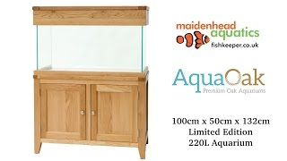 Aqua Oak 100cm 'Doors' Aquarium *Limited Edition* (AQ100D)