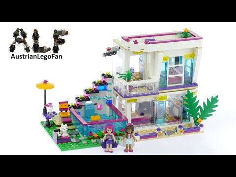 Vidéo LEGO Friends 41135 : La maison de la Pop Star Livi
