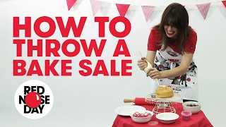 Comic Relief Fundraising Tips: How To Throw A Bake Sale