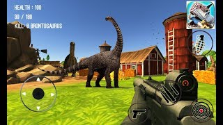 Dinosaur Hunter Dino City  - New Android Game - HD 2018