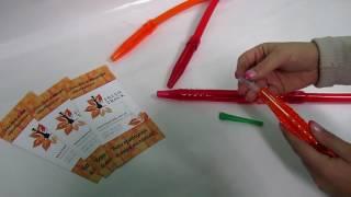 Шланг для кальяну силіконовий з акриловим мундштуком, відеоогляд 1