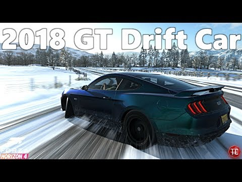Forza Horizon 4: 2018 Mustang GT | Supercharged DRIFT BUILD! 1,000,000+ Combo