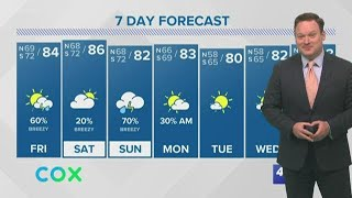 Weather: Heavy Rain Today, More Possible Tomorrow