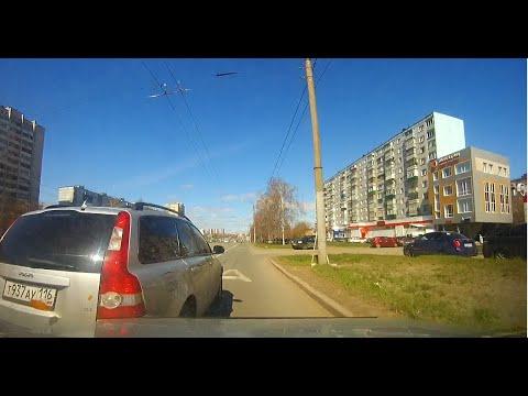Житель Казани за рулем Volvo обиделся и жестко подрезал