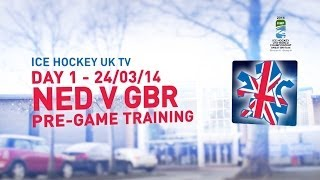 preview picture of video 'Team GB U18s in Dumfries - Day 1 - 24.03.14 - GB Practice'