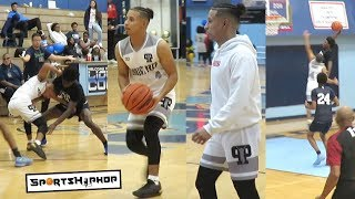 Julian Newman Makes HEATED Prodigy Prep DEBUT!! Gets EJECTED!