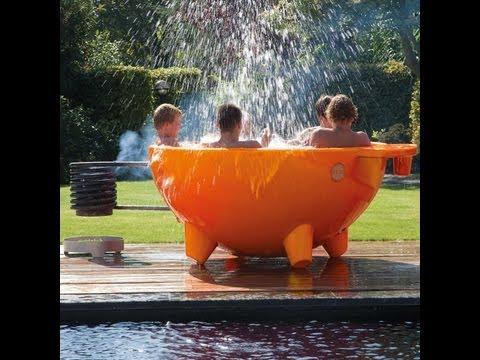 Bade-Wanne nicht nur für den Garten Lifestyle Design Badewanne DutchTub
