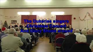 The Dukeries Singers Sing And Glory Shone Around