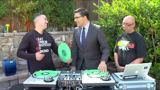 The World Famous Beat Junkies on Fox 5 with Raoul Martinez