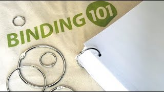 Silver Metal Loose Leaf Book Binder Rings   Binding101.com