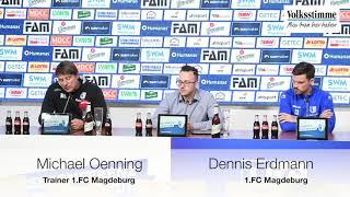 FCM vor Dresden-Spiel