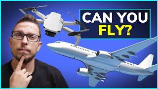 Can You Take the DJI Mavic Mini on a Plane?