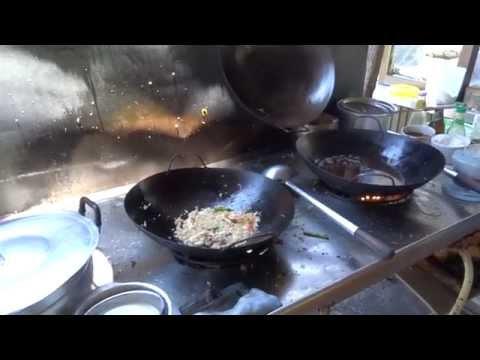 กินสะใจร้านกุ๊กเทวดา จังหวัดกระบี่ Krabi street food