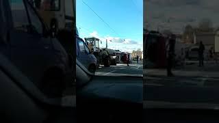 Авария с большегрузом в Казани