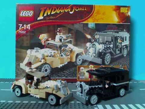 Vidéo LEGO Indiana Jones 7682 : Course poursuite dans Shanghai
