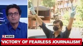 Pradeep Bhandari Speaks On The Victory Of Arnab Goswami And Republic In Bombay High Court - Download this Video in MP3, M4A, WEBM, MP4, 3GP