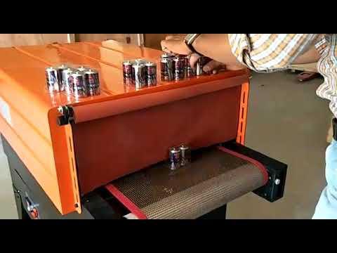 Heat Shrink Tunnel Machine Mesh Conveyor