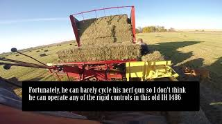 FDWB - Operating a New Holland Bale Wagon with Wesley