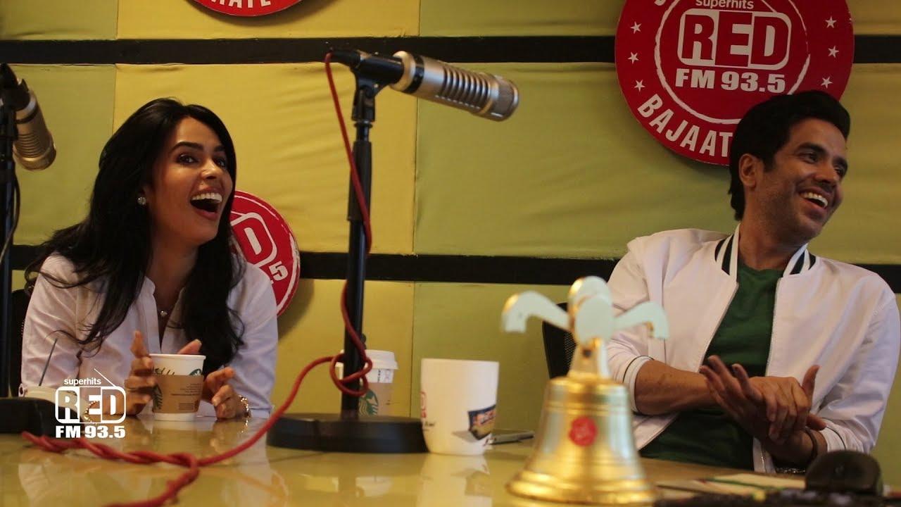 Mallika Sherawat & Tushar Kapoor With RJ Akriti