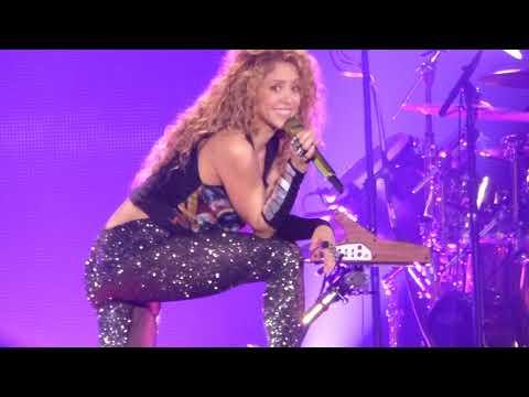Shakira-Me enamoré- live Forum Assago Milano 21/6/2018