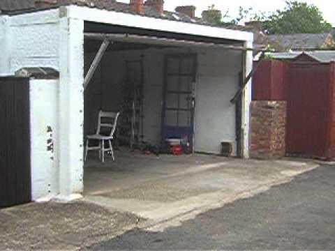 My Homemade Garage Door