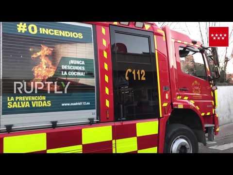 Spain: 39 injured in train crash near Madrid