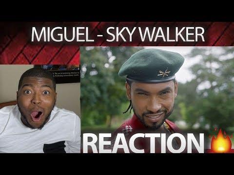Miguel - Sky Walker (Official Video) ft. Travis Scott VIDEO REACTION!!!!
